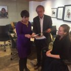 Minister Ploumen together Kees and Lieke