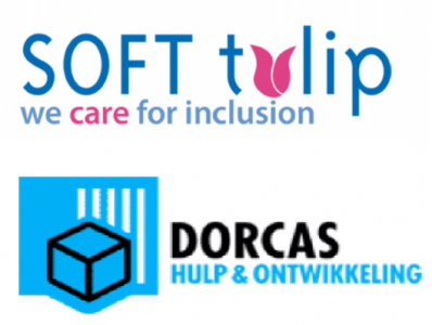 Logo SOFT tulip and Dorcas