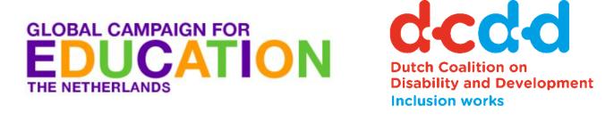GCE logo and DCDD logo